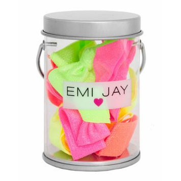 Emi Jay Neon Hair Ties in Paint Tin