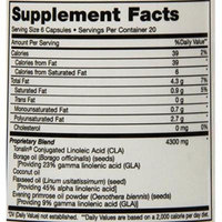 Maxi Health Thin Supreme - Essential Fatty Acids - Weight Management - 120 Capsules (Pack of 24)