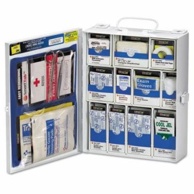 First Aid Only 1350FAE010 Medium First Aid Kit, 136 Pieces, OSHA Compliant, Metal Case