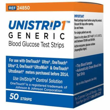 Generic Blood Glucose Test Strips 50 Count Box