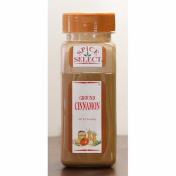 Pack of 12 Spice Select Pure Ground Cinnamon Seasoning 9 oz. #00707