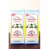 Pack of 24 Spice Select Pure Vanilla Extract 2 fl oz. #30920