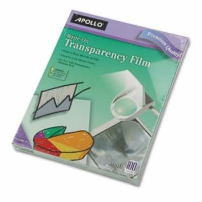 Apollo WriteOn Transparency Film , Clear