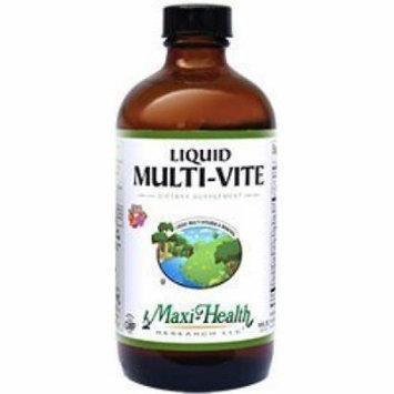Maxi Health Multi-Vite Multi Vitamin Liquid Fruit Flavor 16 OZ by Maxi Health