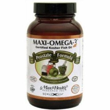 Maxi Health Kosher Maxi Omega-3 Fish Oil Prostate Formula EPA/DHA 90 MaxiCaps