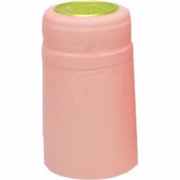 1 X Pink PVC Shrink Capsules