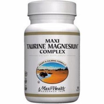 Maxi Health Kosher Maxi Taurine Magnesium Complex 100 Tablets