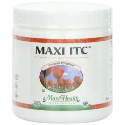 Maxi ITC Powder-Inositol,Vitamin C,Taurine 4-Ounce.Bottle by Maxi