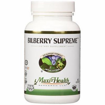 Maxi Bilberry Supreme, 60-Count by Maxi
