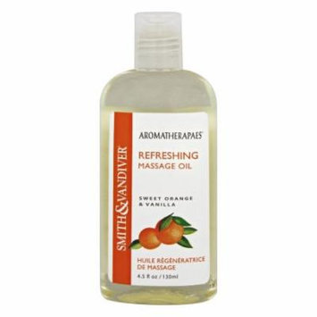 Aromatherapaes - Massage Oil Refreshing Sweet Orange & Vanilla - 4.5 oz.