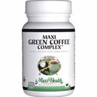 Maxi Health Maxi Green Coffee Complex - NOW KOSHER - 90 MaxiCaps by Maxi Health