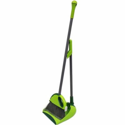 CleanAide® Compact Dustpan and Broom Kit