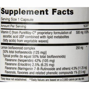 Maxi Health PureWay-C Max - Highly Absorbable Vitamin C - Immune Booster - 180 Capsules - Kosher