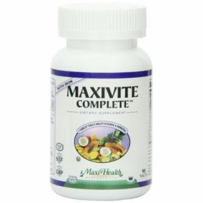 Maxivite complete one a day multi with iron 90 tabs, 7oz Bottle by Maxi
