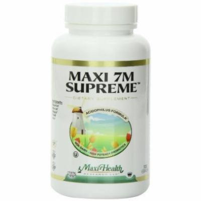 Maxi 7m Supreme Advanced Multi Probiotic Capsues, 120-Count Bottle by Maxi
