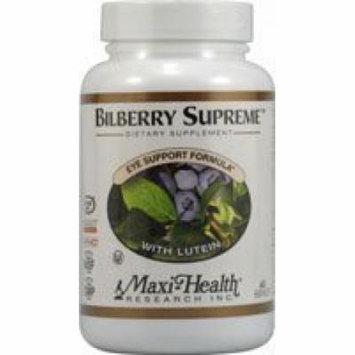 Maxi Bilberry Supreme, 60-Count