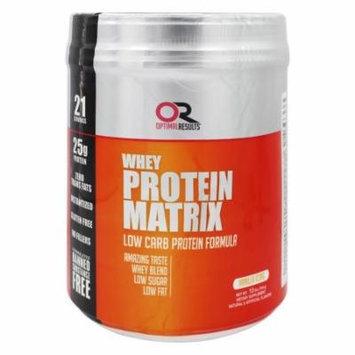Optimal Results - Whey Protein Matrix Vanilla Icing - 1.5 lbs.