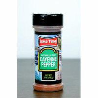 Pack of 12 Spice Time Naturally Pure Cayenne Pepper Seasonings 3 oz. #OO090
