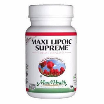 Maxi Lipoic Supreme, 60-Count