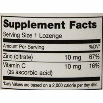 Maxi Health Zinc Lozenges - Zinc Citrate 10mg - with Vitamin C - Cherry Flavor - 60 Chewies - Kosher