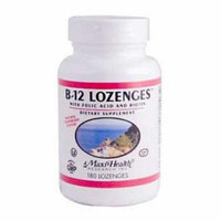 Maxi Health B12 Lozenges - 180 Lozenges