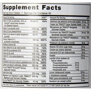 Maxi Health Supreme - High Potency Multivitamin & Mineral Supplement, 360 Count