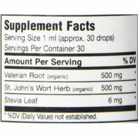 Maxi Health Organic Valerian Root with St. John's Wort - Calming - Berry Flavor - 1 Ounce - Kosher