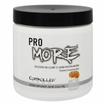 Controlled Labs - ProMore Protein Matrix Frosted Cinnamon Bun - 3.5 oz.