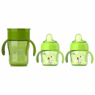 Philips Avent 7 Ounce Toddler Spout and 9 Ounce Drinking Cup Set, Option 5
