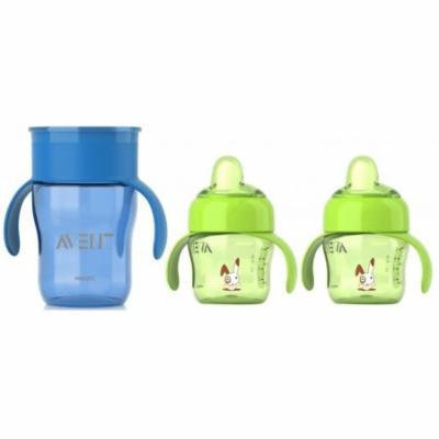 Philips Avent 7 Ounce Toddler Spout and 9 Ounce Drinking Cup Set, Option 7