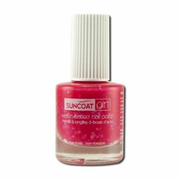 Suncoat Products - Girl Non-toxic Nail Polish, Twinkled Pink 8 ml