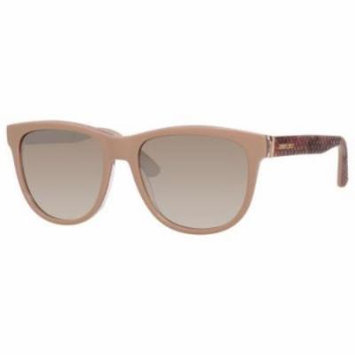 JIMMY CHOO Sunglasses REBBY/S 0VUK Nude Python 55MM