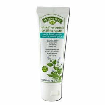 Natures Gate - Creme De Peppermint Fluoride Free Travel Toothpaste 2.5 oz