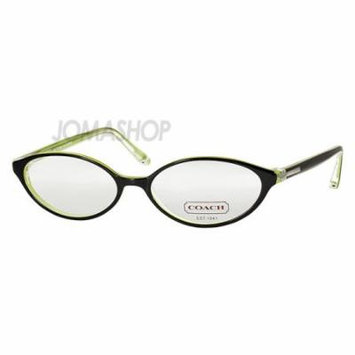 Coach 51mm Colette Black and Grass Acetate Ladies Glasses