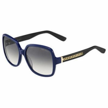 Jimmy Choo JCH Patty Sunglasses 0117 Blue Black