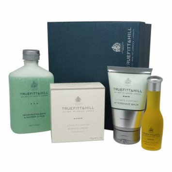 Ultimate Comfort Gift Set: Cream, Balm, Oil, Scrub