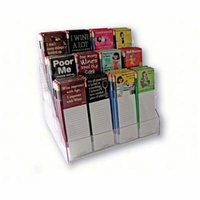 Grimm GRIMMMNPDISPLAY Mangetic Note Pad and Pencil Counter Display