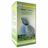 Squip - Andas Inhalation Therapy, Andas Kit with Liquid Blend Sinus Oil 2 pc