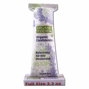 Organic Essence - Organic Deodorant, Lavender 2.2 oz