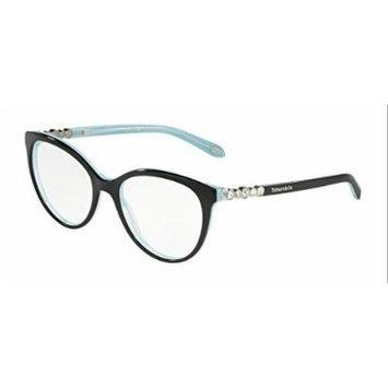 Tiffany 0TF2134B-8193 BLACK/STRIPED BLUE-52mm