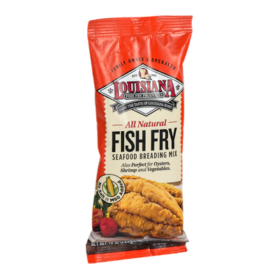 Louisiana Fish Fry Products All Natural Seafood Breading Mix Fish Fry