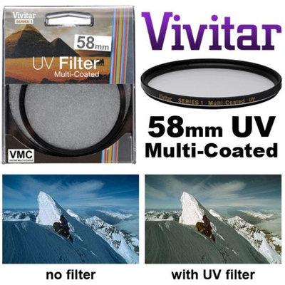 Vivitar Series 1 58mm Multi-Coated UV Glass Filter