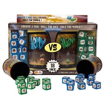 Publisher Services Inc Army vs Aliens Dice Game