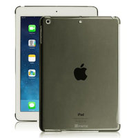 Fintie Hard Shell Back Case Smart Cover Partner for Apple iPad Air (iPad 5 5th Generation), Crystal Black