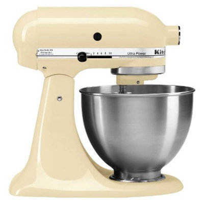 KitchenAid Ultra Power 4.5 Qt Stand Mixer- Almond Creme KSM95