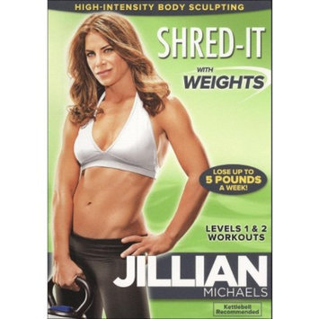Lions Gate Entertainment Lions Gate Jillian Michaels-shred It With Weights [dvd] [ff/eng/span/2.0 Dol Dig]