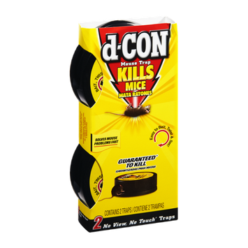 D-Con Kills Mice Mouse Trap - 2 CT