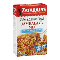 Zatarain's New Orleans Style Jambalaya Mix Reduced Sodium