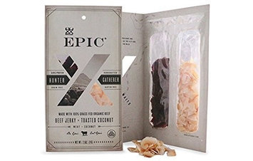 Epic Nutrition Grass Fed Beef Jerky Toasted Coconut Blend 3 oz