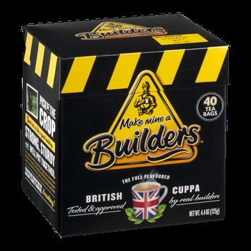 Make Mine a Builders British Cuppa Tea - 40 CT